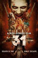 Poster 31 Rob Zombie Zombi Lawrence Hilton-Jacobs Meg Foster Film Cinema #1