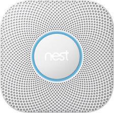 Nest - Protect 2nd Generation (Battery) Smart Smoke/Carbon Monoxide Alarm - W...