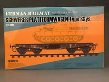 Sabre Model 35A02 1/35 Railway Schwerer Plattformwagen Type SSys