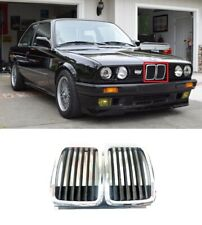 FOR BMW 3 SERIES E30 1983-1994 NEW FRONT CENTER GRILLE CHROME KIDNEY