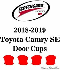 3M Scotchgard Paint Protection Film Clear Pre-Cut Kit 2018 2019 Toyota Camry SE