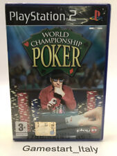 WORLD CHAMPIONSHIP POKER - PS2 - VIDEOGIOCO NUOVO SIGILLATO - NEW SEALED PAL