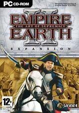 Empire Earth II: el arte de supremacía Pack De Expansión Nuevo y Sellado