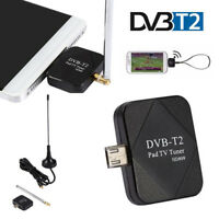DVB-T DVB-T2 TV Stick Receiver Micro USB 1080P Digital Tuner for Android Tablet