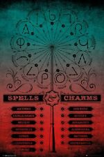 HARRY POTTER - SPELLS & CHARMS POSTER 24x36 - HOGWARTS 160610