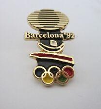 1992 BARCELONA Olympics TELEVISA TV MEXICO Pin badge