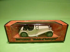 YESTERYEAR  1:43  MATCHBOX -  JAGUAR SS-100  Y-1  1936  - GOOD CONDITION IN BOX