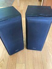 New listing Sony Ss-B3000 Bookshelf Speakers (Pair)
