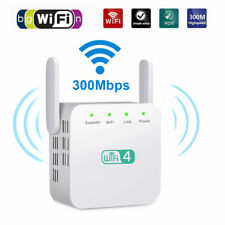Wifi Repeater Range Extender Wireless Signal Amplifier Router Dual Band 300Mbps