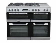 Leisure Range Cooker 110 cm Dual Fuel 3 Ovens CS110F722X Stainless Steel #2036