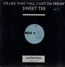 """Sweet Tee(12"""" Vinyl)It's Like That Y'All-Cool Tempo-COOLX 160-UK-1987-VG/Ex"""