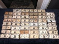 COLLECTION OF (46) SMALL SIZE US CURRENCY NOTES 1928-1953 SERIES