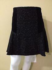 Amanda & Chelsea Women's Black Flared Skirt - Size 8 - NWT