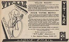 Y8935 Laque-émail VIT-LAK - Pubblicità d'epoca - 1929 Old advertising