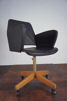50er Vintage Bürostuhl Drehstuhl Schreibtisch Stuhl Office Architektenstuhl 60er