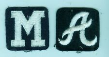 1960's Milwaukee Braves & Atlanta Braves patches (YOU GET BOTH!!)