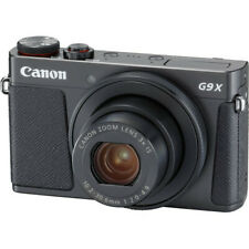 New Canon PowerShot G9 X Mark II Digital Camera - BLACK - 20.1MP Wifi