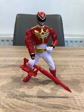 Power Rangers Megaforce Figure Weapons 2012 Bandai Red Ranger Rare