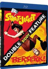 Strait Jacket + Berserk New Blu-ray Psycho Biddy Double Feature Joan Crawford