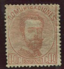 Spagna 00125 Buon francobollo / Gomma alterato
