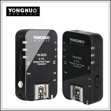 Yongnuo YN-622C +TTL Wireless Flash hot shoe Trigger 1/8000 for Canon SLR Camera
