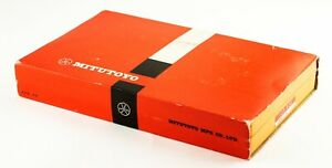 """Mitutoyo 103922 Outside Micrometer Set with standards carbide 0-3"""""""