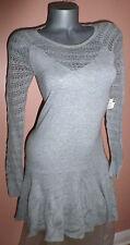 VICTORIA'S SECRET Drop Waist Pointelle Sweaterdress Dress S