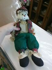 1997 House Of Lloyd Grandpa Lloyd Doll Bunny Doll Stock Number 542379 16 In Tall