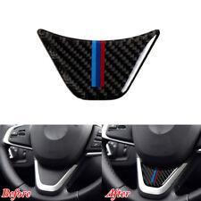 For 16-2018 BMW 2 Series X1 Car Carbon Fiber ABS Steering Wheel Cover Trim Frame