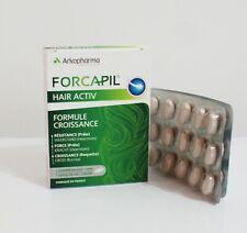 Forcapil Hair Active Slows down hair loss stimulates hair growth strong durable