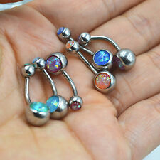 1Pc Crystal Navel Rings Belly Button Rings Bar Body Piercing Beach Jewelry Gift