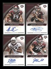 2015 Panini Collegiate Texas A&M Auto Autographs ~ You Pick~ NFL MLB RC Rookies!
