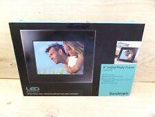 "Sandstrom 8"" Black Frame Digital Photo Frame 800x600 S08DPF11"
