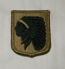US ARMY PATCH ,NATIONAL GUARD, STARC, OKLAHOMA, MULTICAM , WITH VELCR