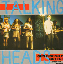 "TALKING HEADS - Girlfriend is Better (1984 UK 12"" VINYL SINGLE)"
