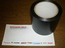 Silage Tape Black 100mm x 33m Silo Bales Agricultural Farming Farmer Feed Grass