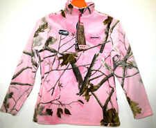 REALTREE XTRA MICRO FLEECE JACKET COAT FOR WOMEN PINK SZ MEDIUM(8-10) M