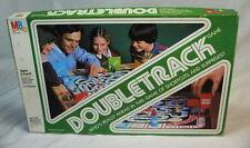 DOUBLE TRACK Board Game 1981 Milton Bradley - Complete / DOUBLETRACK