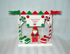 NEW LEGO CHRISTMAS, HAPPY BIRTHDAY CAKE TOPPER WITH SANTA & GIFTS, PRESENTS