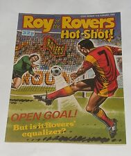 ROY OF THE ROVERS COMIC 11TH FEBRUARY 1989