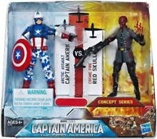 Arctic Assault Captain America & Cosmic Fire Red Skull Action Figure 2-Pack