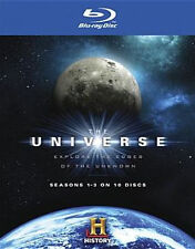 UNIVERSE SEASONS 1-3 (10PC) - BLU RAY - Region A - Sealed