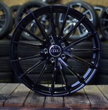 19 Zoll V-Wheels V2 Alu Felgen 5x112 et35 schwarz für A4 A5 A6 VW Scirocco R S4