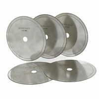 "5Pcs 6"" inch Super-thin Diamond Lapidary Slab Saw Blade Cutting Disc Rim 0.016"""