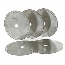 "5Pcs 6"" inch Super-thin Diamond Lapidary Slab Saw Blade Cutting Disc Rim 0.016"""