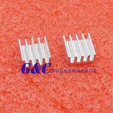 20PCS 11x11x5mm  Aluminum Heat Sink For Memory Chip IC