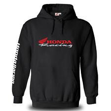 Genuine Honda Racing CBR Motorcycle Racing Motocross Biker Black Hooded Hoodie