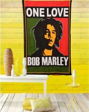 """BOB MARLEY 3Ft 7"""" by 2Ft5"""" rare collectible poster Multi Color Cotton Tapestry"""
