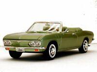CHEVROLET Corvair Monza - 1969 - greenmetallic - YATMING 1:18