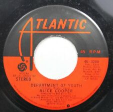 Rock 45 Alice Cooper - Department Of Youth / Some Folks On Atlantic Recording Co